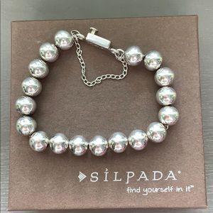 B0471 classic retired Silpada sterling bracelet